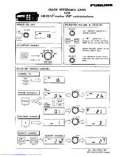 Furuno FM-2510 Manuals
