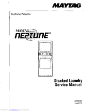 Maytag NEPTUNE WASHER Manuals