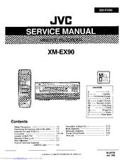 Jvc XM-EX90 Manuals