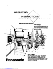 Panasonic NN-5456 Manuals