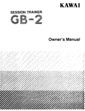 Kawai GB-2 Manuals