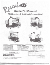 Rascal R235 Manuals