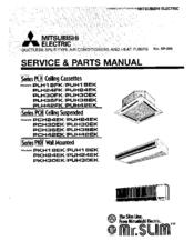 Mitsubishi Electric Mr.Slim PUH18EK Manuals