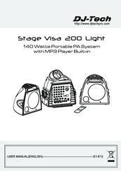 Dj-tech Stage Visa 200 light Manuals