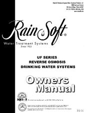 Rainsoft UF50T-CBVOC Manuals