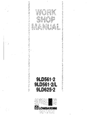 Lombardini 9LD561-2 Manuals