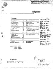 Ge TBX25 Manuals