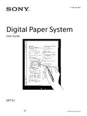 Sony DPT-S1 Manuals