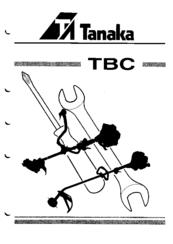 Tanaka TBC-422 Manuals