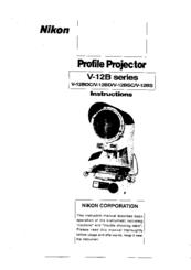Nikon V-12BDC Manuals