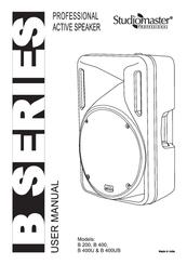 Studiomaster B 200 Manuals
