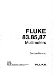 Fluke 87 Manuals
