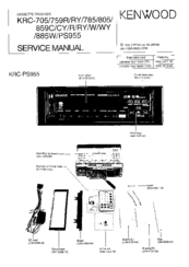 Kenwood KRC-759R Manuals
