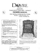 Dovre DV400 Manuals