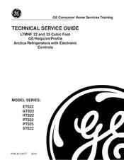 Ge GTS22 Manuals