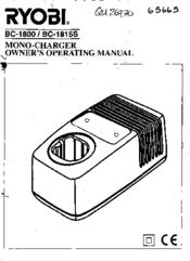 Ryobi BC-1815S Manuals