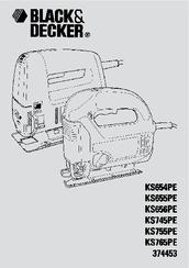 Black & Decker KS656PE Manuals