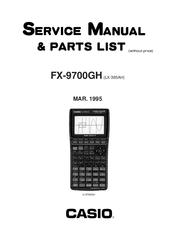 Casio FX-9700GH Manuals
