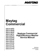 Maytag MAH21PD Manuals