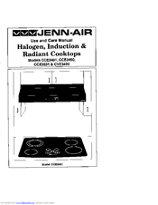 Jenn-air CCE3401 Manuals