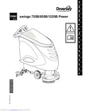 Taski swingo 755B power Manuals