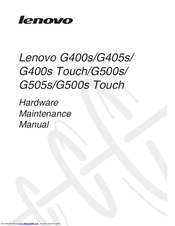 Lenovo G500s Touch Manuals