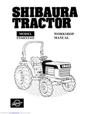 Shibaura ST445 Manuals