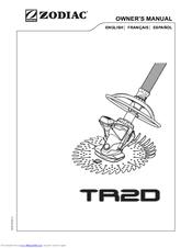 Zodiac TR2D Manuals