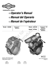 Briggs & Stratton Vanguard 540000 Series Manuals