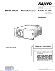 Sanyo PLC-XF60A Manuals