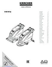 Karcher B 60 W Ep Manuals