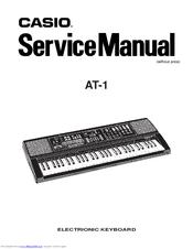 Casio Oriental Maestro AT1 Manuals
