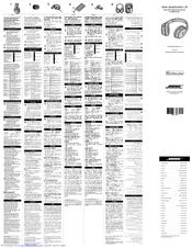 Bose QuietComfort 25 Manuals