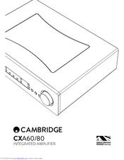Cambridge Audio CXA80 Manuals