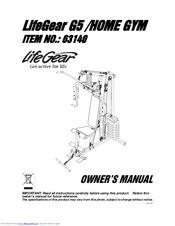 Lifegear 63140 G5/HOME GYM Manuals