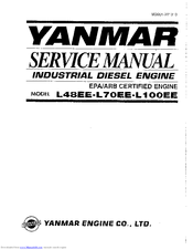 Yanmar L48EE Manuals