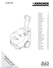 Karcher K 855 HS Manuals