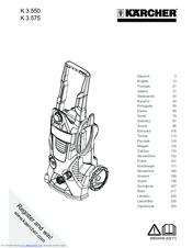 Karcher K 3.575 Manuals
