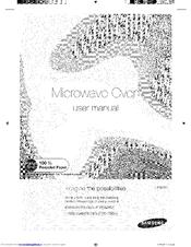 Samsung ME18H704SFW/AA Manuals