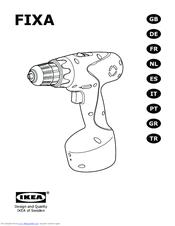 Ikea FIXA Manuals