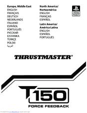 Thrustmaster T150 Manuals