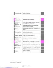 Toyota HIGHLANDER 2014 Manuals