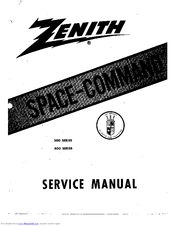 Zenith Space-Command 400 Series Manuals
