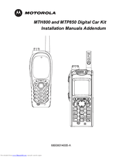 Motorola MTP850 Manuals