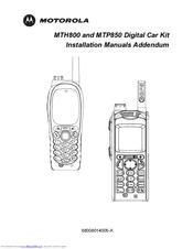 Motorola TETRA MTH800 Manuals