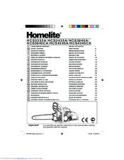 Homelite HCS3335A Manuals
