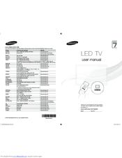 Samsung PS64F8590 Manuals