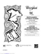Whirlpool Duet Steam Manuals