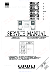 Aiwa XR-M121 Manuals