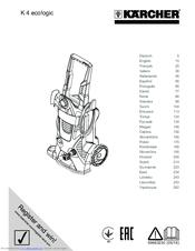 Karcher K 4.86 M Manuals